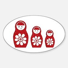 Riyah-Li Designs Nesting Dolls Three Decal