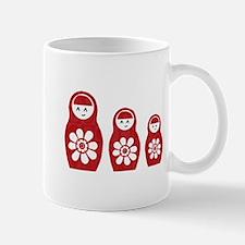 Riyah-Li Designs Nesting Dolls Three Mug