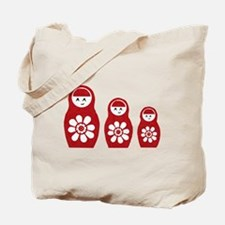 Riyah-Li Designs Nesting Dolls Three Tote Bag