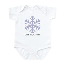 Snowflake Infant Creeper