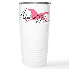 Alpha Mare Saying Travel Mug