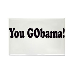 You GObama! Rectangle Magnet (10 pack)