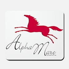 Alpha Mare Saying Mousepad