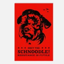Obey the Schnoodle! Postcards (Pack of 8)