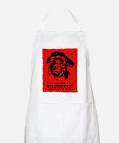 Obey the Schnoodle! BBQ Apron
