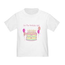 Haileys birthday girl shirt T