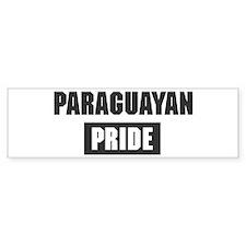 Paraguayan pride Bumper Bumper Sticker