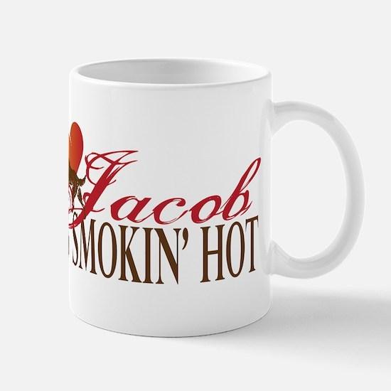 2-SmokinHotWolf Mugs