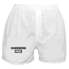 Scandinavian pride Boxer Shorts