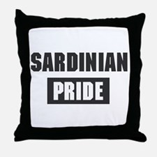Sardinian pride Throw Pillow