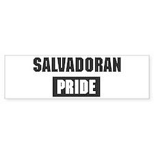 Salvadoran pride Bumper Bumper Sticker