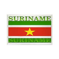 Suriname Rectangle Magnet