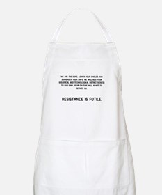 We are the BORG BBQ Apron