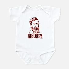 Thoreau Disobey Infant Bodysuit