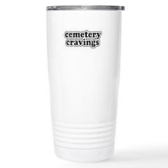 Cemetery Cravings Travel Mug