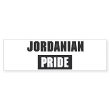Jordanian pride Bumper Bumper Sticker