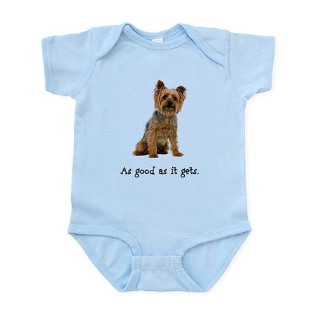 Good Silky Terrier Infant Bodysuit