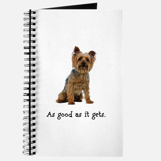 Good Silky Terrier Journal