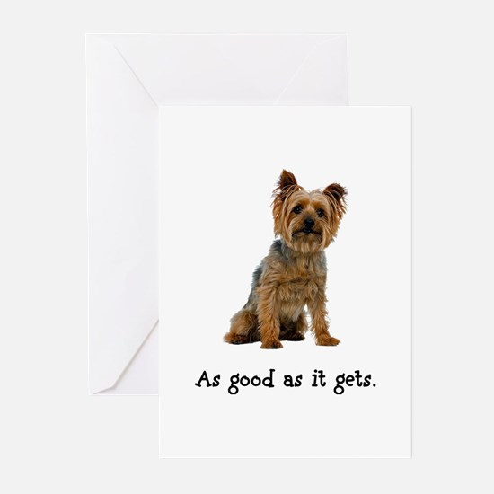 Good Silky Terrier Greeting Cards (Pk of 20)