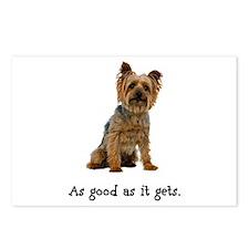 Good Silky Terrier Postcards (Package of 8)
