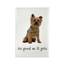 Good Silky Terrier Rectangle Magnet