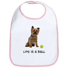 Silky Terrier Life Bib