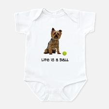 Silky Terrier Life Infant Bodysuit