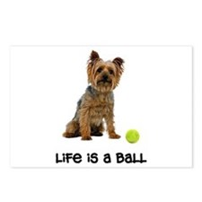 Silky Terrier Life Postcards (Package of 8)