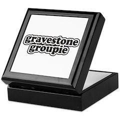 Gravestone Groupie Keepsake Box