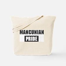 Mancunian pride Tote Bag