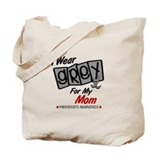 I Wear Grey For My Mom 8 PD Tote Bag