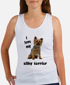 Silky Terrier Love Women's Tank Top