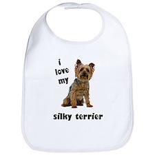 Silky Terrier Love Bib