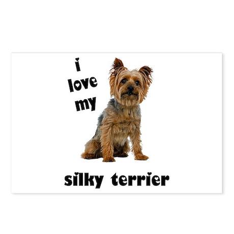 Silky Terrier Love Postcards (Package of 8)