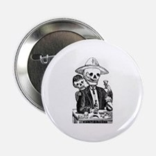 "Calavera Tapatia 2.25"" Button"