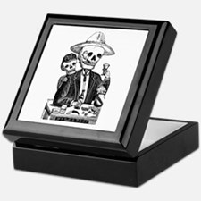 Calavera Tapatia Keepsake Box