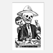 Calavera Tapatia Postcards (Package of 8)
