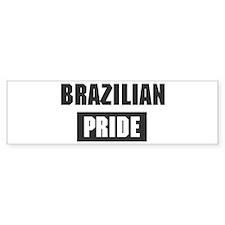 Brazilian pride Bumper Bumper Sticker