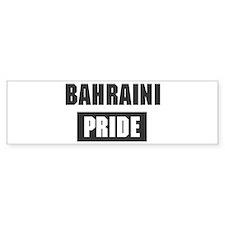 Bahraini pride Bumper Bumper Sticker