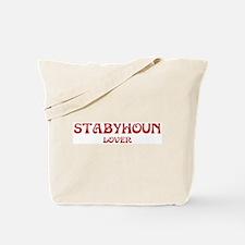 Stabyhoun lover Tote Bag