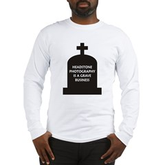 Grave Photography Long Sleeve T-Shirt