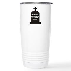 Grave Photography Travel Mug