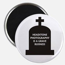 Grave Photography Magnet