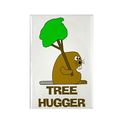 Beaver Tree Hugger Magnets (10 pack)