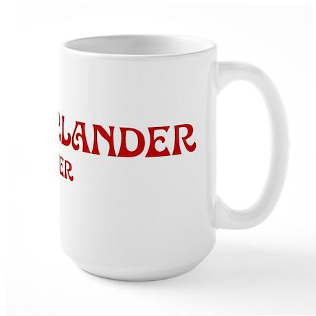 Munsterlander lover Large Mug