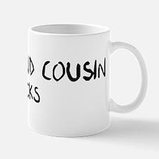 Second Cousin Rocks Mug