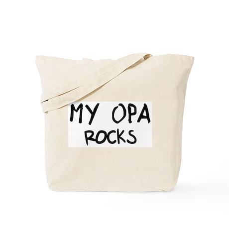 Opa Rocks Tote Bag
