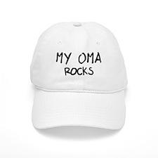 Oma Rocks Baseball Cap