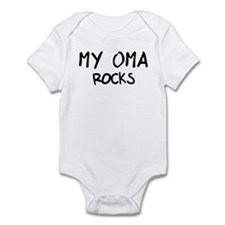 Oma Rocks Infant Bodysuit