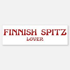 Finnish Spitz lover Bumper Bumper Bumper Sticker